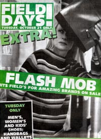 Marshall Fields Flash Mob Advertisement